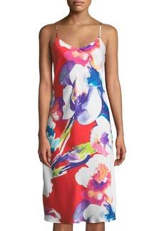 Natori Tahiti Floral-Print Nightgown