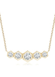 Women's Natori Fine Jewelry Indochine Journey Diamond Pendant Necklace