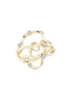 Women's Natori Fine Jewelry Sakura Dispersed Diamond Ring