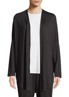 Natori Zen French Terry Lounge Cardigan