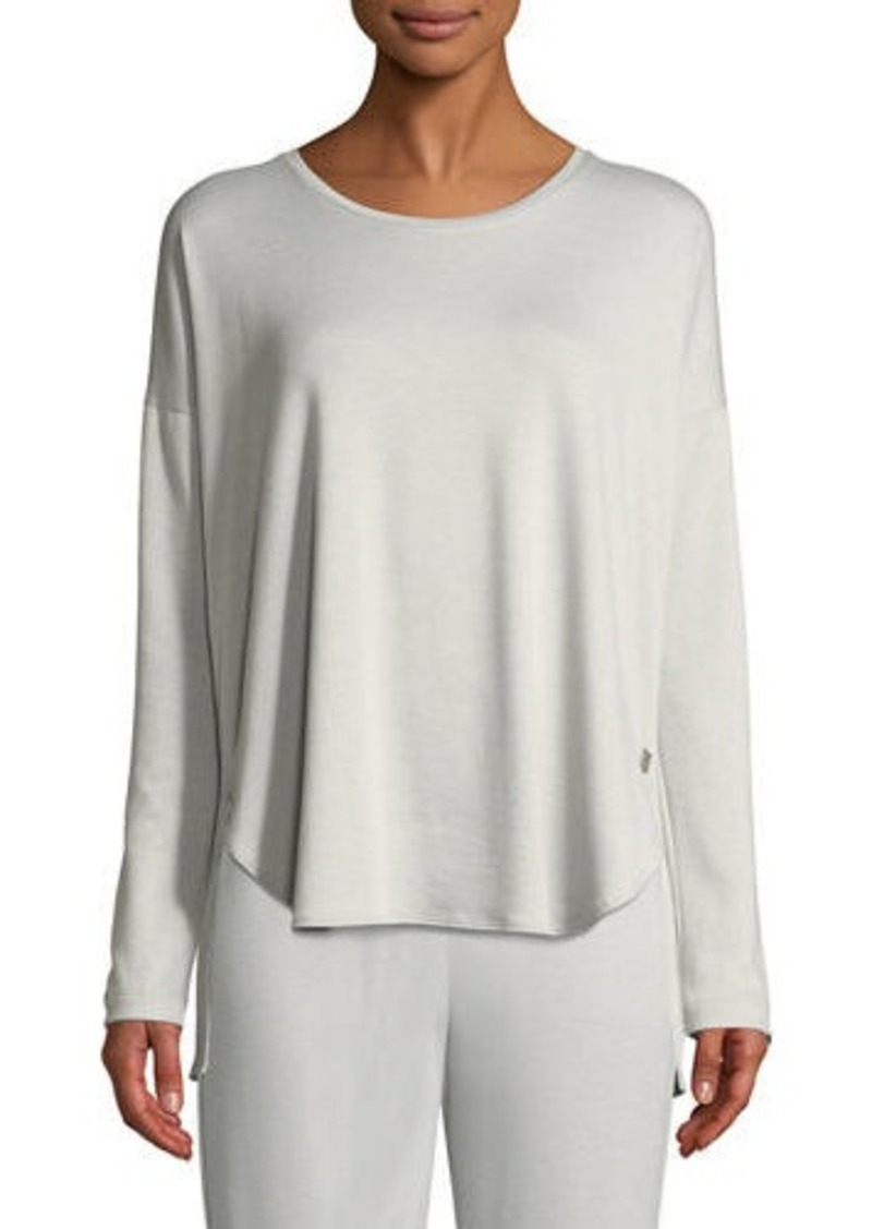 Natori Zen Long-Sleeve Lounge Top