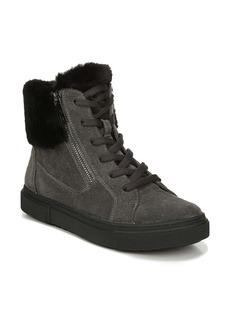Naturalizer Baker Faux Fur Trim High Top Sneaker (Women)