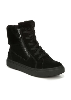 Naturalizer Baker Faux Fur Trim High Top Sneaker (Women)