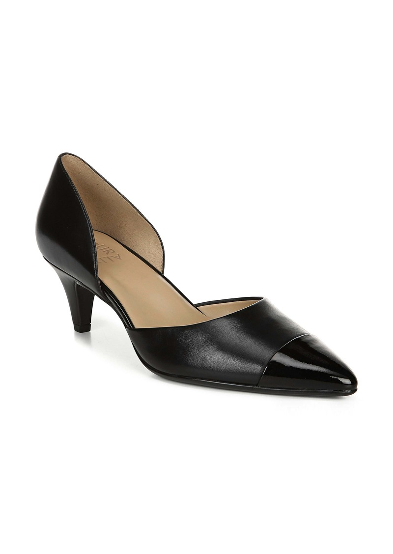 Naturalizer Barb Leather Pump (Women)