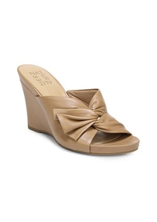 Naturalizer Breanna Leather Wedge Sandals