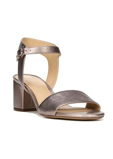 Naturalizer Caitlyn Leather Block Sandals