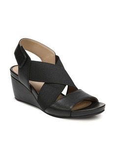 Naturalizer Cleo Leather Wedge Sandals