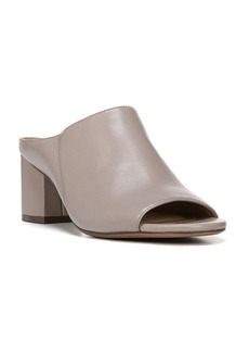 Naturalizer Cyprine Leather Block Heel Mules