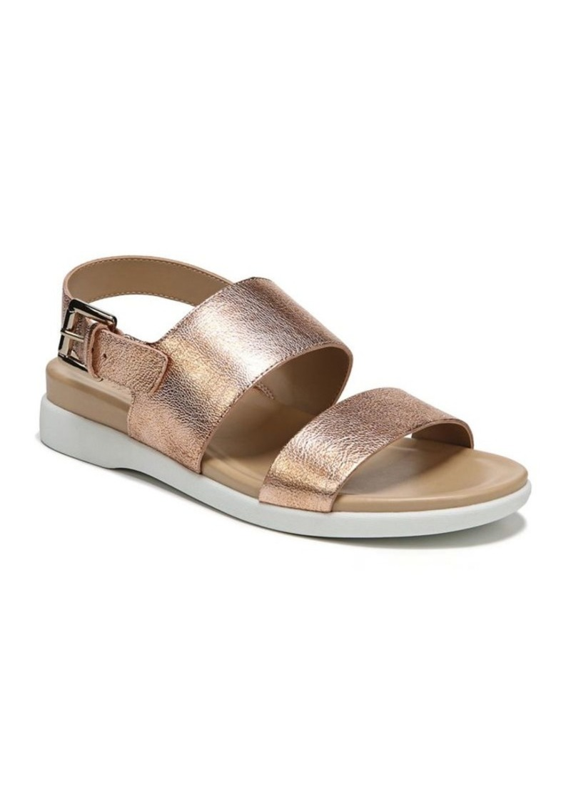 652b89161 Naturalizer Naturalizer Emory Metallic Leather Slingback Sandals