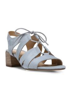 Naturalizer Felicity Suede Block Heel Sandals