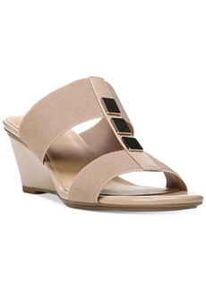 Naturalizer Hayden Embellished Wedge Sandals Women's Shoes