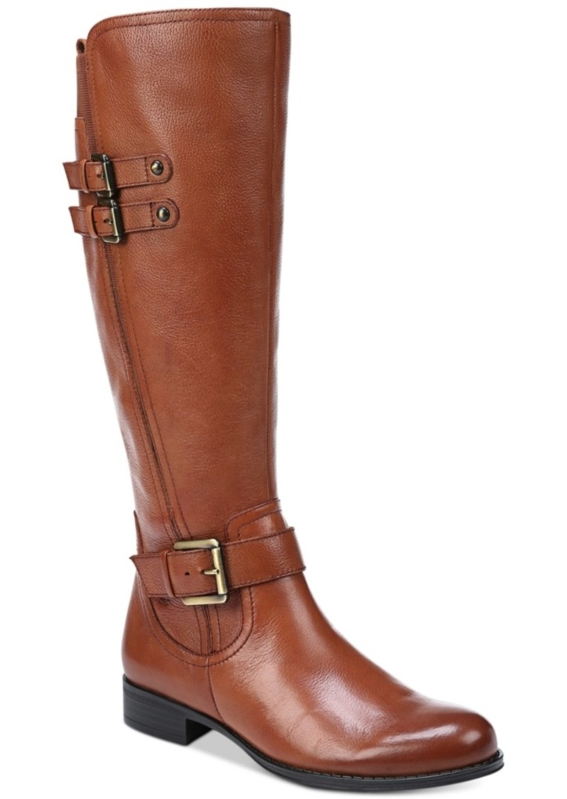 Naturalizer Jessie Leather Riding Boots Women's Shoes