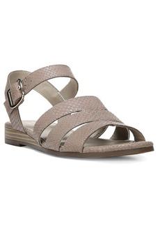 Naturalizer Kaye Leather Wedge Sandals