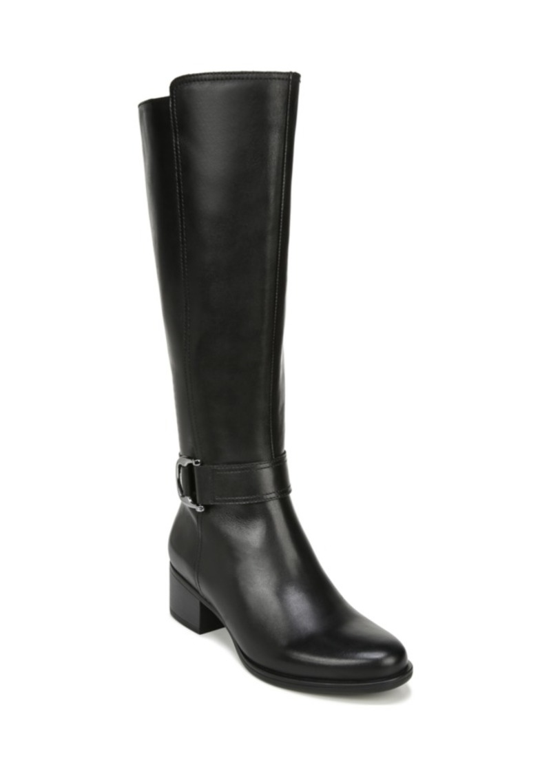 Naturalizer Kelso High Shaft Leather Boots Women's Shoes