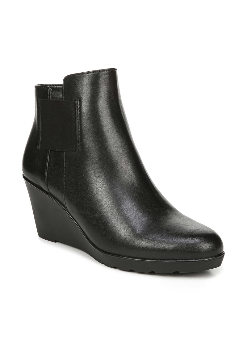 Naturalizer Laila Water Resistant Wedge Bootie (Women)
