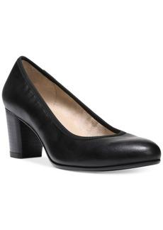 Naturalizer Naomi Block-Heel Pumps Women's Shoes