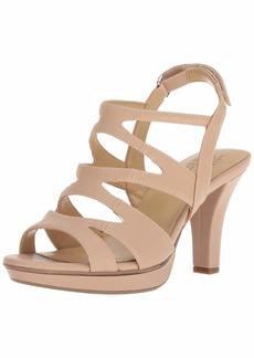 Naturalizer Womens Dianna Heeled Sandal Taupe  M