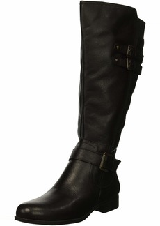 Naturalizer Women's Jessie Wide Calf Knee High Boot Black wc 7 2W US