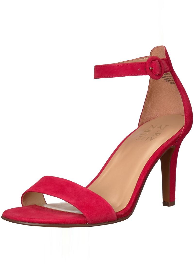 Naturalizer Women's Kinsley Sandal red 10 W US