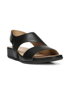 Naturalizer Yessica Leather Wedge Sandals