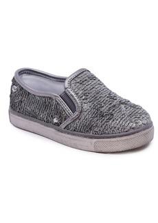 Naturino Little Girls Sequin Twin Gore Sneaker