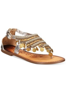 Naughty Monkey Brave Heart Gladiator Flat Sandals Women's Shoes