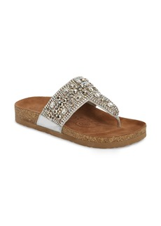 Naughty Monkey Embellished Sandal (Women)