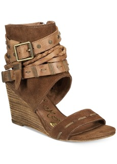 Naughty Monkey Lasalle Peep-Toe Sandals Women's Shoes