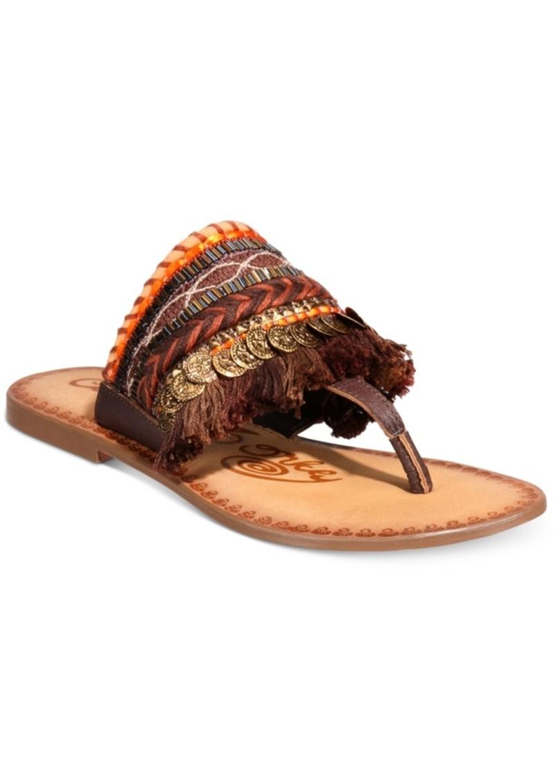 Monaco Flat Sandals Women's Shoes. Naughty Monkey