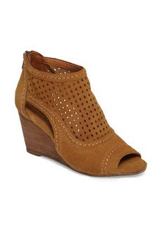 Naughty Monkey Sharon Perforated Wedge Sandal (Women)