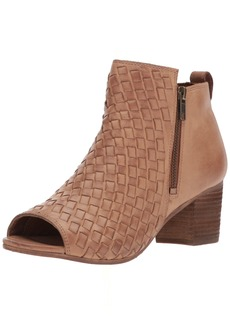 Naughty Monkey Women's Cacey Ankle Bootie tan  M US
