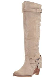 Naughty Monkey Women's Double Up Slouch Boot   M US