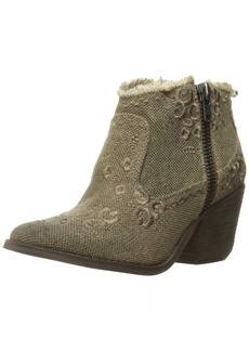 Naughty Monkey Women's Sewn up Ankle Bootie  8 M US