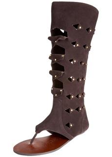 Naughty Monkey Women's Weekender High Gladiator Sandal M US