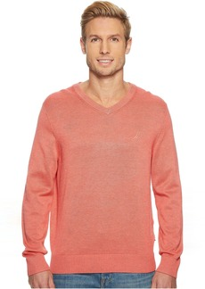 Nautica 12 Gauge Basic V-Neck Sweater