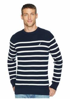 Nautica 12 Gauge Bretton Crew Sweater