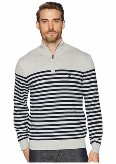 Nautica 12 Gauge 1/2 Zip Bretton Sweater