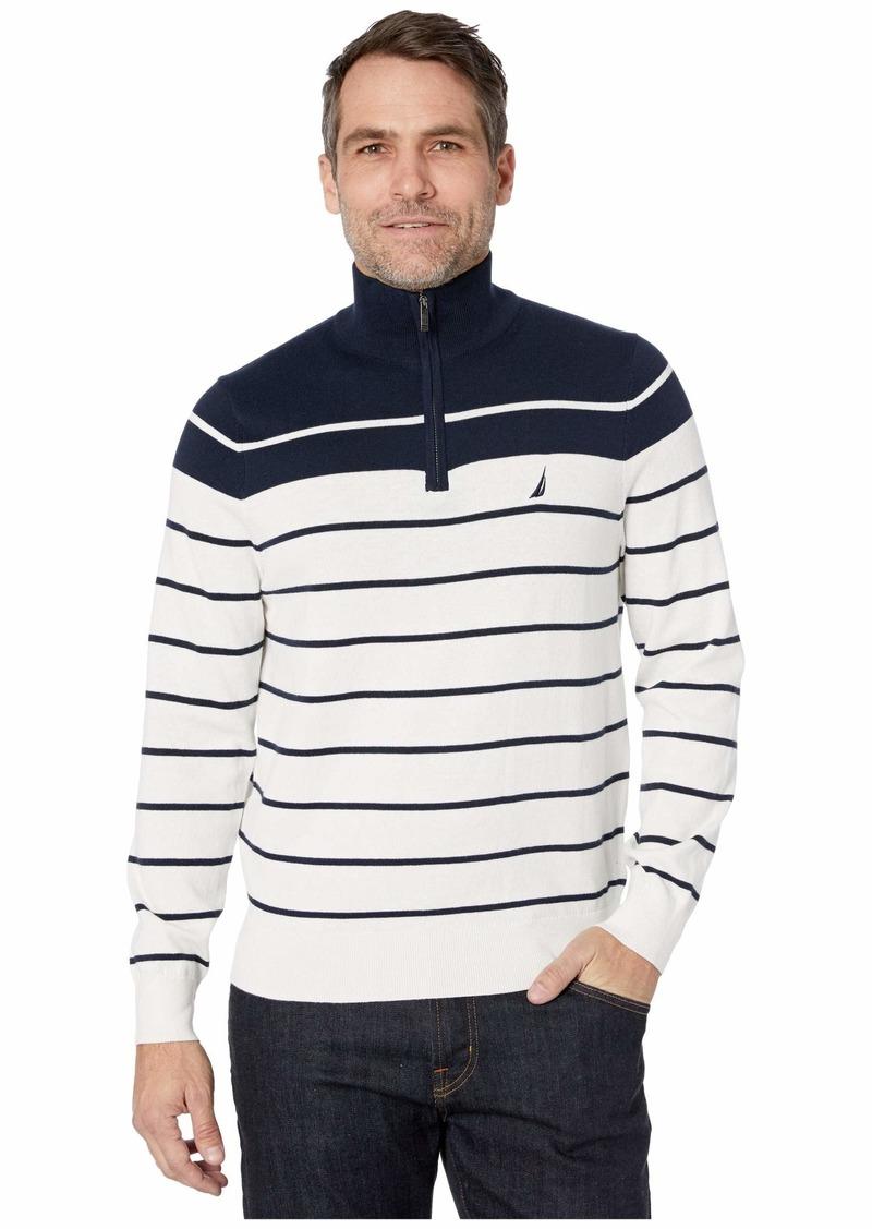 Nautica 1/4 Zip Pullover Sweater