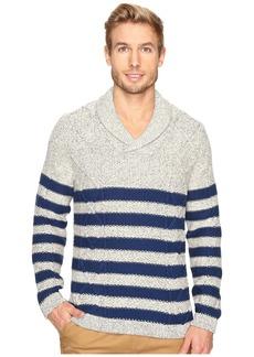 Nautica 3 Gauge Shawl Pullover