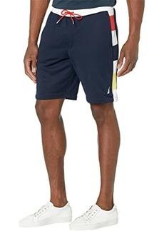 "Nautica 9"" Side Panel Knit Shorts"