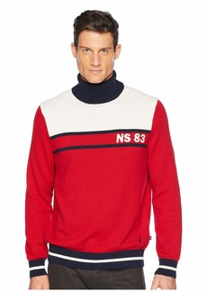 Nautica 9GG Blocked Turtleneck