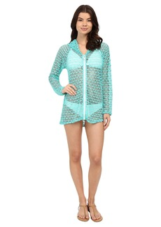 Nautica Absolutely Shore Hooded Long Sleeve Tunic NA24706