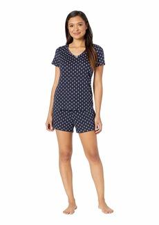 Nautica Anchor Print Shorts Pajama Set