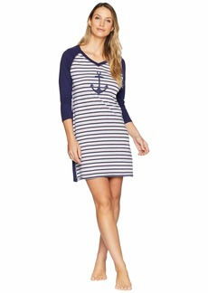 Nautica Anchor Stripe Sleepshirt