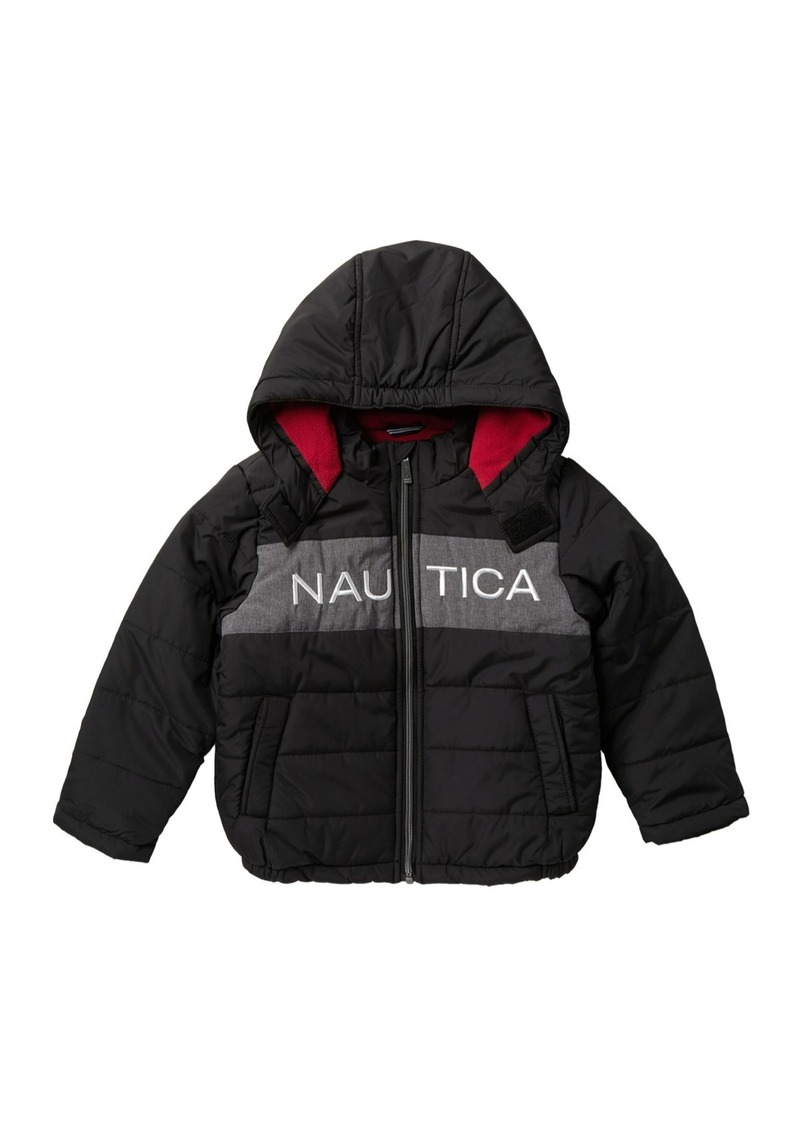 Nautica Arthur Fleece Lined Bubble Jacket (Little Boys)