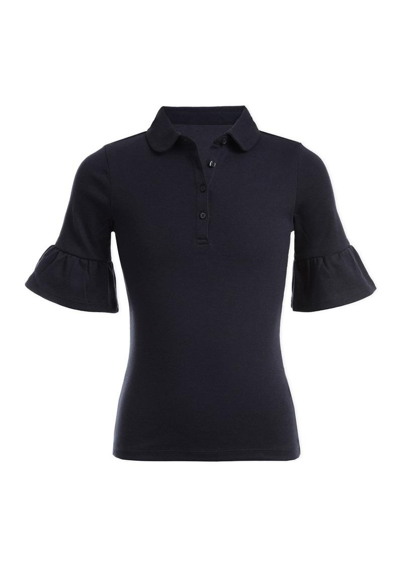Nautica Bell Sleeve Uniform Polo (Big Girls)
