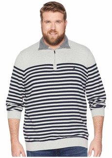 Nautica Big & Tall 1/2 Zip Mock Pullover