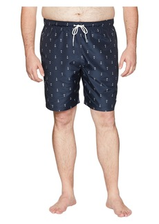 Nautica Big & Tall Anchor Print Trunk 17 1/2""