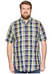 Nautica Big & Tall Casual Plaid Shirt