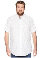 Nautica Big & Tall Casual Print Short Sleeve
